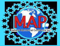 M.A.P. General Mechanical Contractors, Inc. Logo